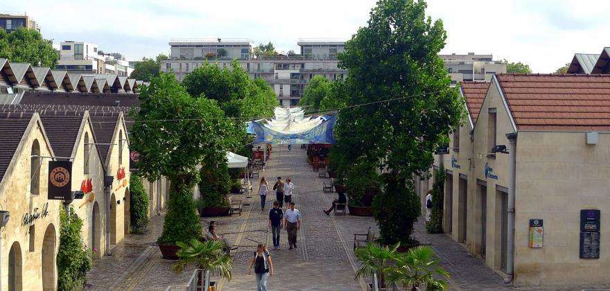 Bercy Village; shopping and entertainment in the heart of Paris