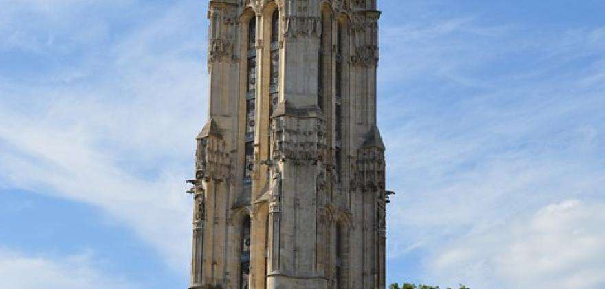 The Saint-Jacques Tower; a sublime building in the heart of Paris