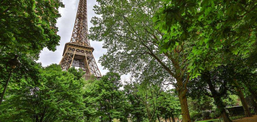 The Eiffel Tower; more than 130 years of history